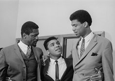Mr. Bill Russell, Mr. Muhammad Ali and Mr. Kareem Abdul-Jabbar @iron_light