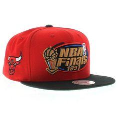 d9d0b3f844f Chicago Bulls 1997 NBA Finals Snapback Hat