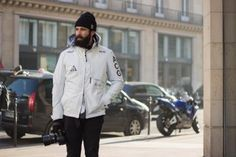 Street Style: Adam Katz Sinding in Nike ACG, Porter, Raf Simons and More | Highsnobiety