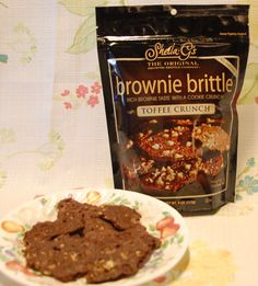 Royalegacy Reviews and More: Sweet Valentine Crunchies - Sheila G's Brownie Brittle - Review & Giveaway - 2/7 US