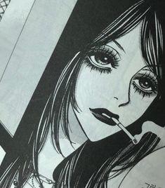 Anime Art Girl, Manga Art, Manga Anime, Pretty Art, Cute Art, Aesthetic Art, Aesthetic Anime, Gothic Anime, Manga Covers