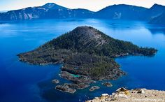 Wizard Island, Crater Lake National Park, Oregon by Feng Wei Photography, via Flickr