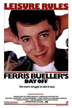 Size: 40x27in Ferris Bueller's Day OffChoose from our catalog of over 500,000 posters! This versatile and affordable poster delivers sharp, clean images and a high degree of color accuracy. Your poster is printed with an offset lithography press with a coating to protect the inks. Horror Movie Posters, Iconic Movie Posters, Movie Poster Art, Iconic Movies, 80s Posters, Classic 80s Movies, Old Film Posters, Poster Wall, Original Movie Posters