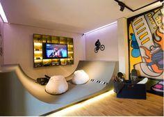 Skateboard room design ideas