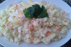 Jak udělat vynikající bramborový salát | recept Risotto, Grains, Rice, Menu, Chicken, Ethnic Recipes, Food, Czech Republic, Menu Board Design