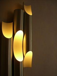 97 Choices Unique Elegant Lighting LED Outdoor Wall Sconce For Modern Exterior House Designs 72 Cool Lighting, Modern Lighting, Lighting Design, Lighting Ideas, Modern Lamps, Modern Wall, Outdoor Lighting, Luminaria Diy, Bamboo Light