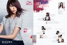 Wella Professionals Magma by Blondor Artistic Blending Step-by-Step.