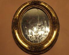 antique wall mirror – Etsy