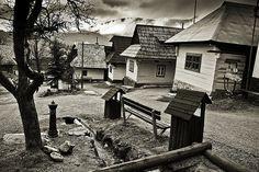 Vlkolinec by miloshaaa, via Flickr  This is a traditional Slovak village.!