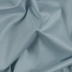 Winter Sky Blue Striped Rayon Ribbed Knit Fabric by the Yard | Mood Fabrics