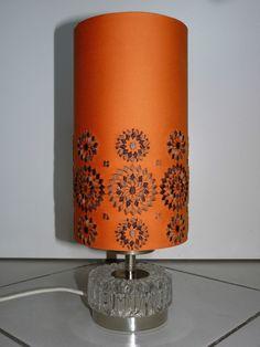 geniale ideen tischleuchte orange gefaßt abbild oder caddddebbde