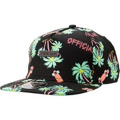 Official Skate HI Hawaiian Print Snapback Hat (oddly drawn to it...)