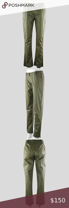 Womens Trousers Career Vintage Ladies straight leg Cargo long Pants Size 12 tata