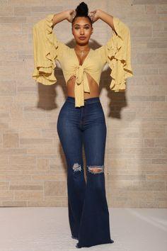 Bell Bottom Pants, Bell Bottoms, Wide Leg Jeans, Flare Jeans, Bell Sleeves, Women Wear, Legs, How To Wear, Fashion