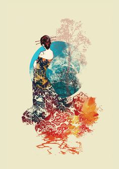 Madama Erfly By Budi Satria Kwan Painting Art Madame