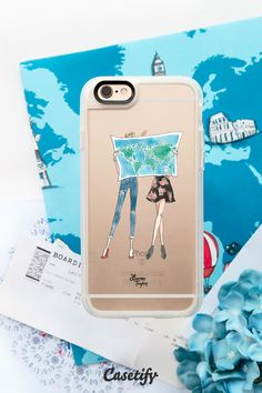 Travel With Me (Semi-Transparent) Cool Iphone Cases, Cute Phone Cases, Iphone 7 Plus Cases, Iphone Case Covers, Iphone 6s Gold, New Iphone, Cell Phone Covers, Apple Products, Fashion Wallpaper