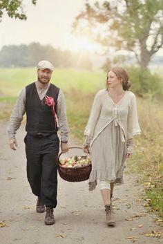 Madame Petite - Foto - Styling: Äppelbröllop på Skytteholm...