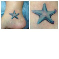 @Shelby Henderson starfish tattoo