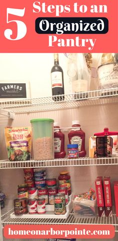 Pantry Organization | How to Organize a Pantry | Home Organization