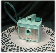 1961 Turquoise Savoy Imperial Camera