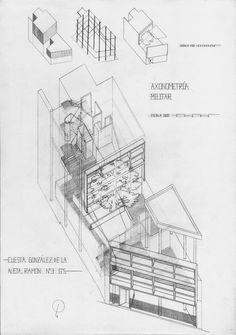 Casa Curutchet Le Corbusier, Architecture Drawings, Modern Architecture, Amancio Williams, Co Housing, Pierre Jeanneret, Famous Architects, House, Interior Design