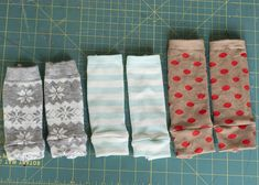 How to make NEWBORN baby leg warmers from regular adult socks. @Amy Lyons Lyons Lyons Lyons Lyons Lyons Bartizal Harper