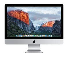"Apple iMac 27"" Desktop with Retina 5K display - 4.0GHz Intelquad-core Intel Core i7, 512GB PCIe-based Flash Storage, 16GB 1867MHz DDR3 SDRAM, R9 M395X 4GB GDDR5, OS X El Capitan, (NEWEST VERSION)"