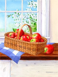 """""""Apples By The Window"""" by Maureen McCarthy"""