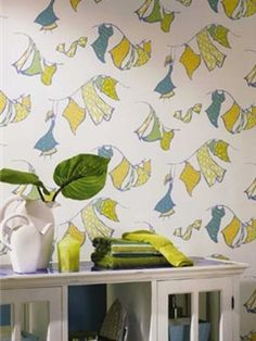 Laundry And Mud Room Wallpaper | Wallpapers To Go