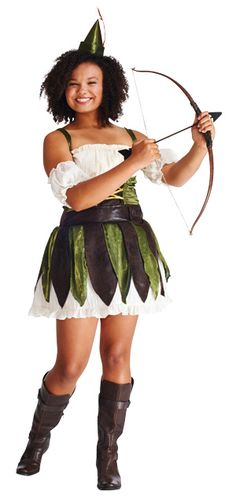 Adult Lady Robin Hood Costume | Pinterest | Robin hoods Halloween costumes and Hoods  sc 1 st  Pinterest & Adult Lady Robin Hood Costume | Pinterest | Robin hoods Halloween ...