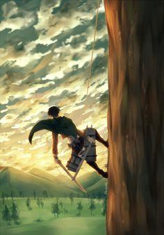 shingeki no kyojin wallpapers ereri Armin, Eren E Levi, Sharingan Kakashi, Naruto, Hinata, Levi Ackerman, Ereri, Levihan, Fan Art