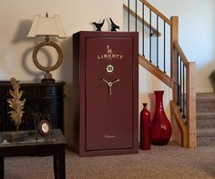 Liberty Colonial Series Gun Safes. The Perfect balance in security and classiness.