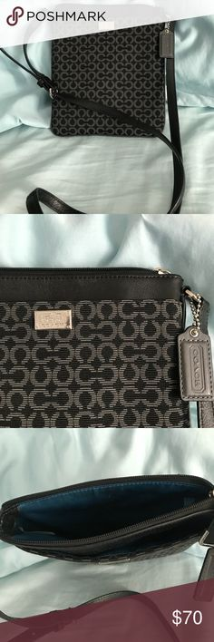 "Coach cross body purse Coach cross body purse.  Measures 7.5 wide x 8.5"" tall. Coach Bags Crossbody Bags"