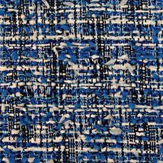 A Linton Tweed in royal blue, black and white! Textile Texture, Fabric Textures, Textile Art, Tweed Fabric, Blue Fabric, Woven Fabric, Vintage Updo, Weaving Textiles, Texture Design