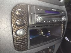 Awesome hydro dipped stereo surround with carbon fibre effect