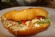 How To Make Trini Fried Bake and Saltfish trini to de bone Carribean Food, Caribbean Recipes, Fish Recipes, Indian Food Recipes, Ethnic Recipes, Seafood Recipes, Bake And Saltfish, Trinidadian Recipes, Trini Food