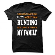 Awesome Tee Hunting and Family Shirts & Tees