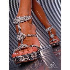 Sexy Pearl Sandals
