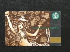 Starbucks Card 40th Anniversary Siren card. Love!!! X  Major Want!!!!
