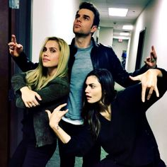 Claire, Nate, Phoebe