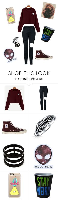 """""""Untitled #163"""" by skylovessave ❤ liked on Polyvore featuring Converse, Bling Jewelry, Repossi and Casetify"""