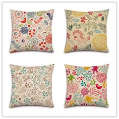 3,61$ Nordic Village Style imprimé Floral accueil décoratif canapé oreiller linge coton Fundas oreiller coussin mode Almofadas Cojines