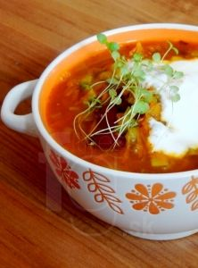 FitnessGuru.sk Thai Red Curry, Chili, Soup, Ethnic Recipes, Chile, Soups, Chilis