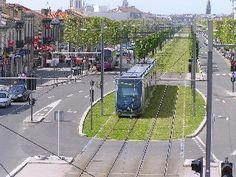 Bordeaux tram line