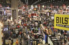 Recer's tradeshow floor