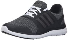 adidas Performance Women's Cloudfoam Xpression W Cross-Trainer Shoe, Black/White/Onix, 11 M US