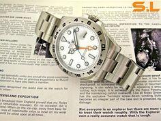 Rolex Explorer II (ref. 216570)