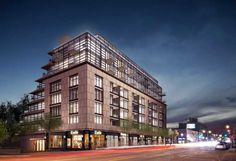 The Hill, 927-935 Eblinton Avenue West, Toronto, Canada, Developer BSäR, 9 Storeys, 93 Units, GFA 92,431 sq.ft