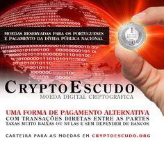 CryptoEscudo - moeda digital criptográfica #altcoin #portugal