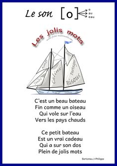 Les sons à la maternelle French Language Lessons, French Language Learning, French Lessons, Core French, French Class, French Teaching Resources, Teaching French, French Poems, French Alphabet